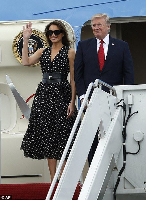 The leaders arrived separately on Thursday and will not see each other until early this evening, when they'll meet for the first time at a dinner that will also be attended by their wives.