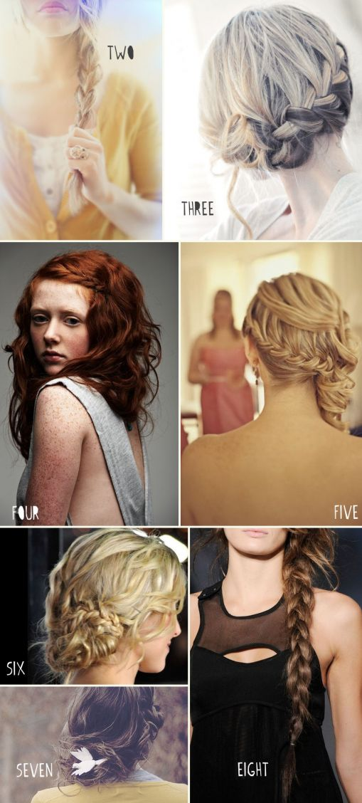 braids braids braids: Braids Hairstyles, Hair Ideas, Bridesmaid Hair, Long Hair, Bridal Braids, Girls Hairstyles, Braids Style, Hair Style, Wedding Hairstyles