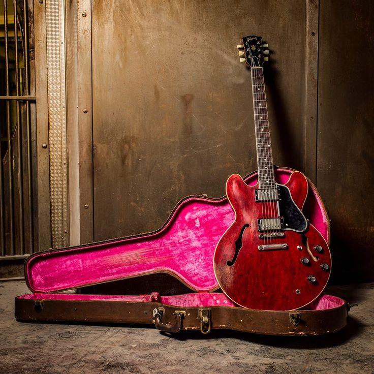 25 Best Ideas About Vintage Guitars On Pinterest: 25+ Best Ideas About Gibson Es 335 On Pinterest