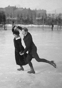 Finnish skaters in the 1920