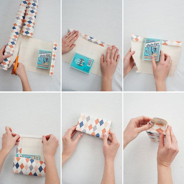 how to make a gift bag out of wrapping paper... going to try it next rainy day