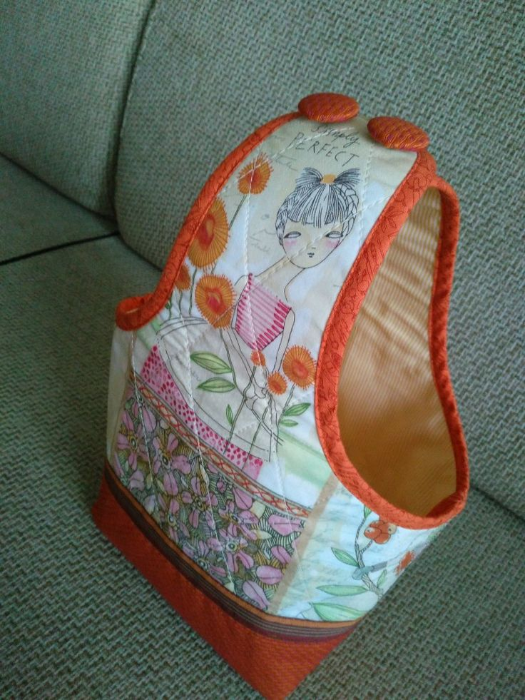 a part of kniteer's carry-all set/   yarn bag