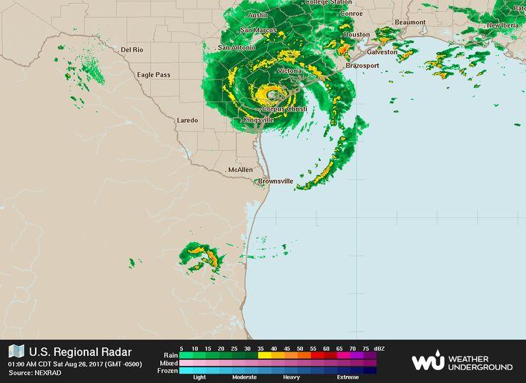 Storm Tracker: Follow Hurricane Harvey's path