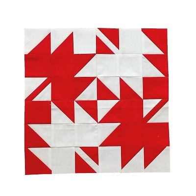 Sesqui Leaf by Jean Boyd for The Canadian Sampler