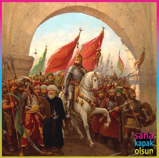 İstanbul'un Fethi'nin 561. Yıldönümü Kutlu Olsun!  www.sanakapakolsun.com #istanbul