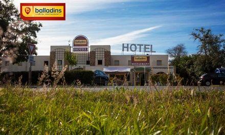Saint-Sylvain-d'Anjou : 1 à 3 nuits en chambre double, petit déjeuner inclus à l'hôtel balladins Angers Parc Expo pour 2
