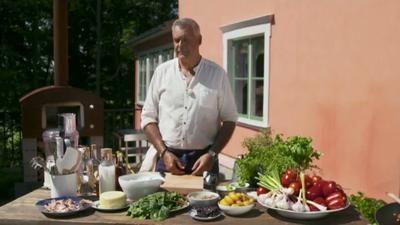 Festmåltid avslutar årets Sommar med Ernst