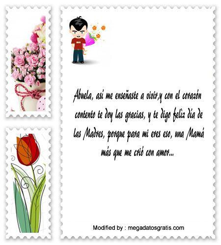 descargar frases para el dia de la Madre,descargar imàgenes para el dia de la Madre: http://www.megadatosgratis.com/dedicatorias-para-mi-abuelita/