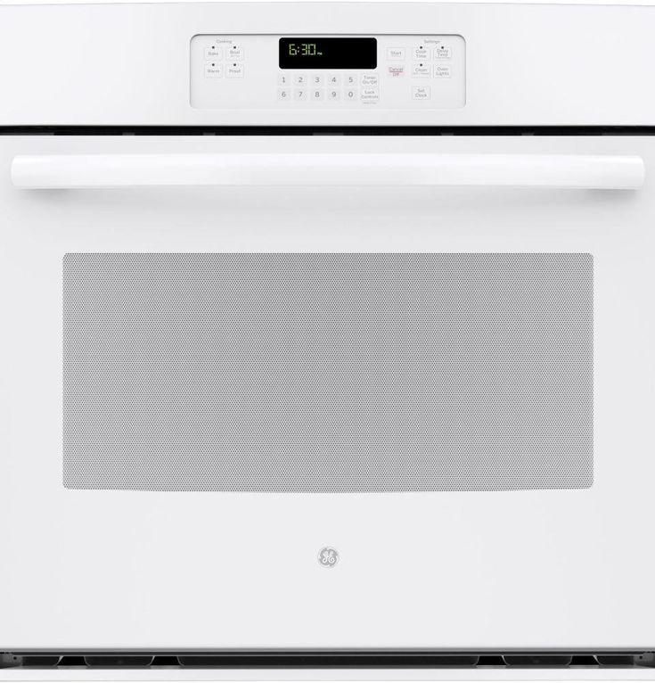 "Amazon.com: GE JT3000DFWW 30"" White Electric Single Wall Oven: Appliances"