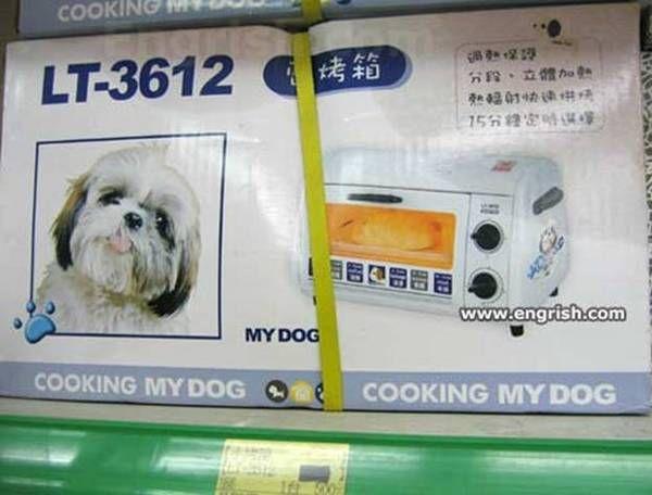 Um... I hope something is getting lost in translation.