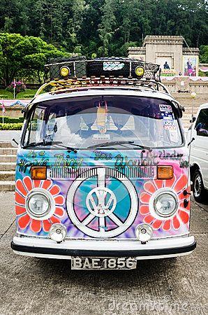 Automobile d annata di Volkswagen Fotografia Editoriale