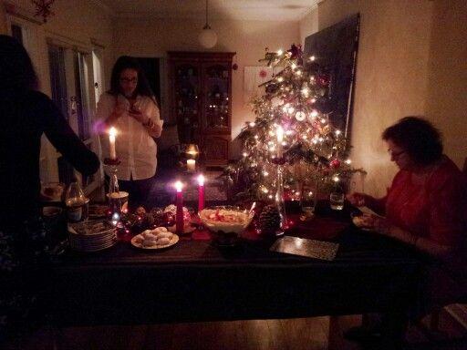 Christmas eve - dessert time