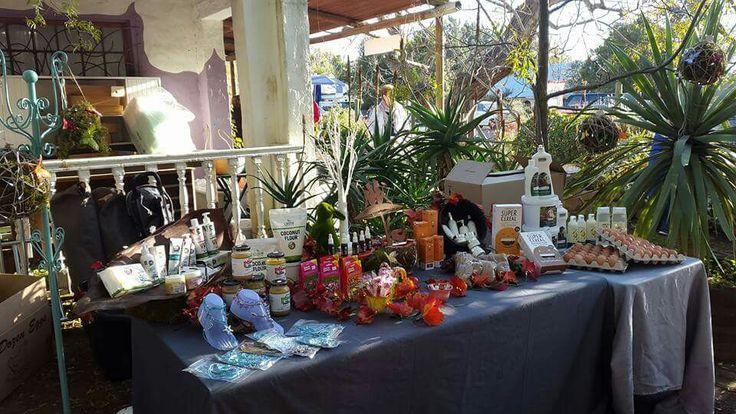Village Market stall Riebeek West