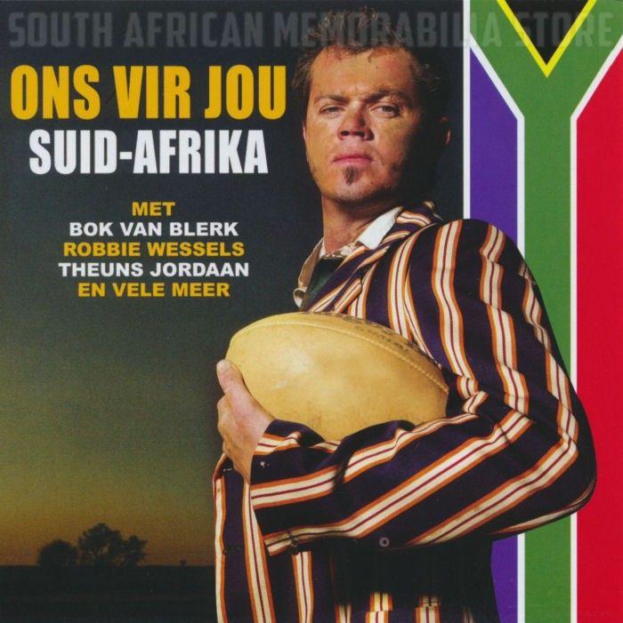 ONS VIR JOU SUID-AFRIKA - Bok Van Blerk Robbie Wessels - South African CD *New*