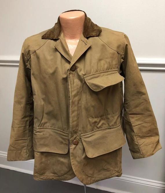 6a9ff10f68d05 Vintage 1930's Duxbak Jacket - Rain Proof Sportsman's Clothing ...