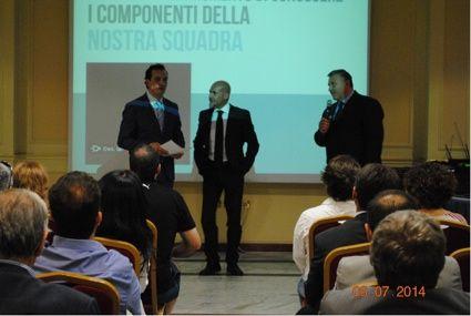 Giuseppe Giura e Pasquale Palladino, Socie e Wfranchisee W55, Eliseo Longobardo, Founfer e Wfranchisee W55