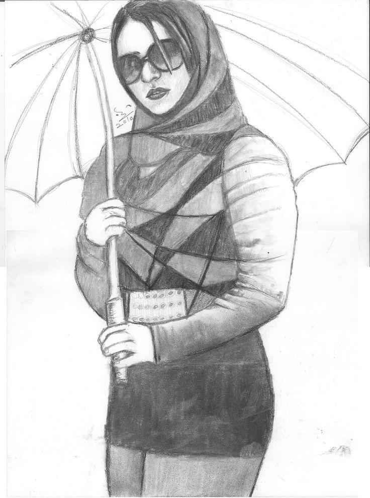 خلود بالمظلة ..