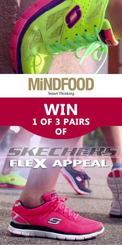 Win 1 of 3 pairs of Skechers Sport Flex Appeal! #competition #footwear #runners