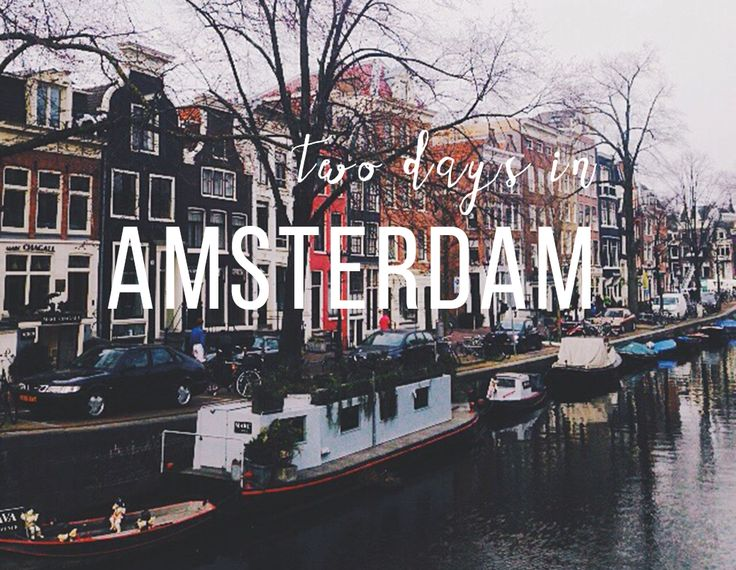 Two days in Amsterdam - my city guide itinerary, in which I do none of the things you're supposed to do in Amsterdam, but do lots of wandering and eating.