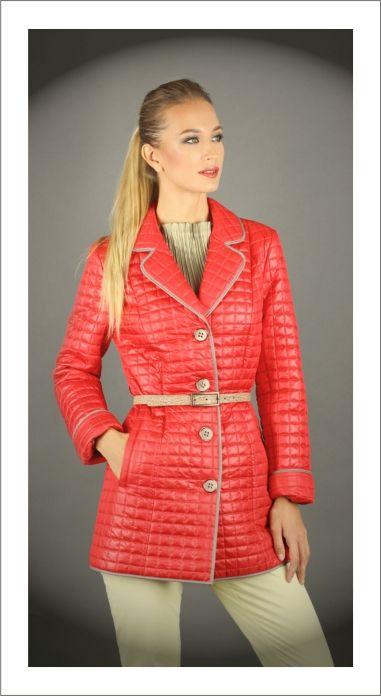 Молодежная стеганная куртка