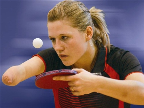 Table tennis Paralympian to fulfill Olympic dream, too (Courtesy Natalia Partyka): Tennis Paralympian, Olympics Games, 2012 Olympics, Olympics Dreams, Tables Tennis, 2012 Summer, Olympics 2012, De Tables, Fulfil Olympics