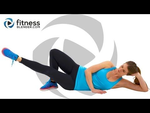No Equipment 10 Minute Butt and Thigh Workout at Home (Video) | Female Fit Body