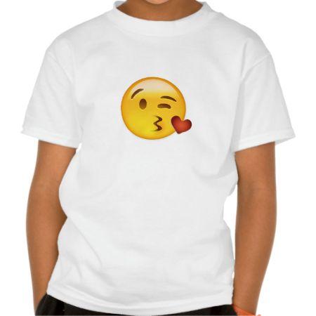 Face Throwing A Kiss Emoji T Shirts