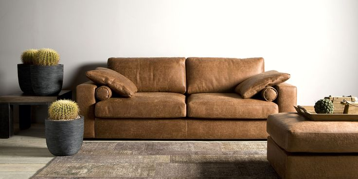 Heerlijke lifestyle sofa met een perfecte balans tussen uitstraling en comfort. Giorno Casia Sofa 3-zits in Gallardo leder.