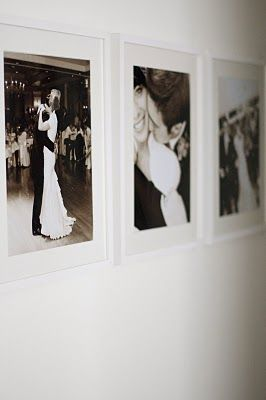 Frame wedding pictures