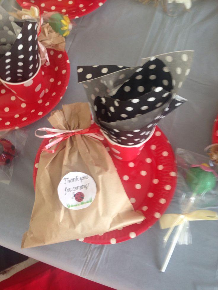 Ladybugs partypack