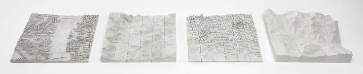 Playable Landscapes: Custom Concrete 3D Puzzles of Cityscapes | - Using Open Street Map data, Logiplaces has already created a preliminary set of popular places voted up by fans for mass production, including downtown San Francisco and the Grand Canyon. --- Urbanist
