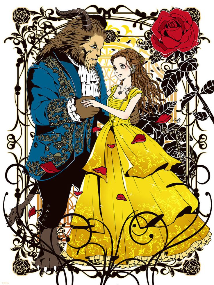 Exclusive Be Our Guest An Art Tribute To Disneys Beauty And The Beast Is