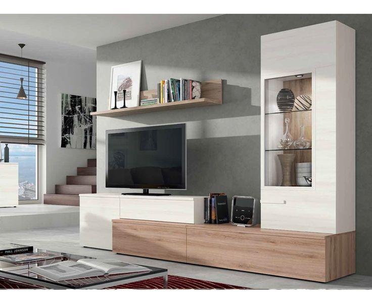 Sal n modelo alicante 1 salones modernos pinterest - Muebles salon alicante ...