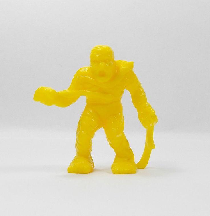 Monster In My Pocket - Series 1 - 41 Mummy - Yellow - Mini Figure