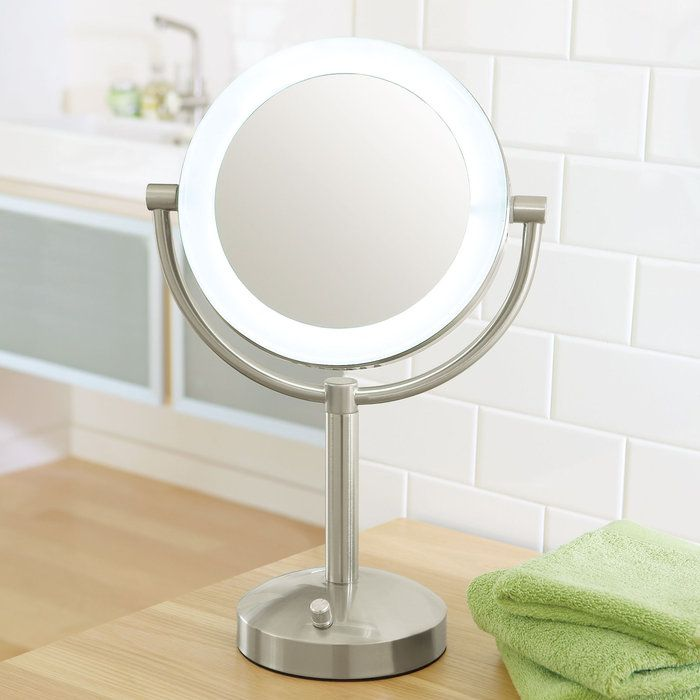 lighted makeup mirror magnifying mirror makeup tables makeup storage. Black Bedroom Furniture Sets. Home Design Ideas
