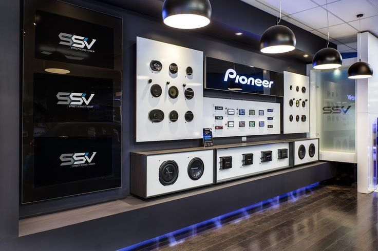 Pioneer Car Audio Display Stand At Thomastown Store