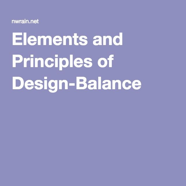 Elements And Principles Of Design Balance : Best images about elements of art principles design