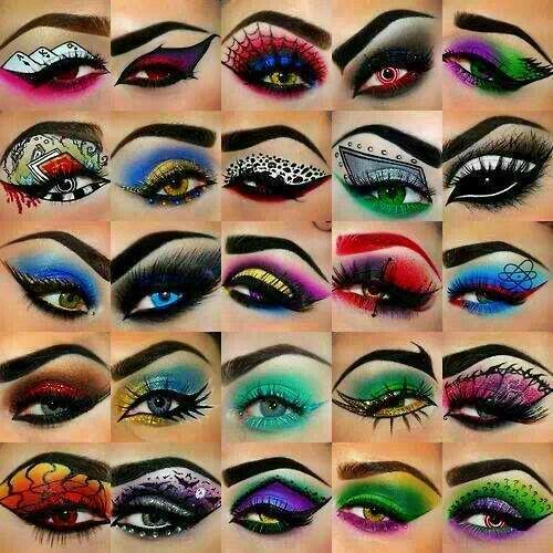Halloween Eye Art