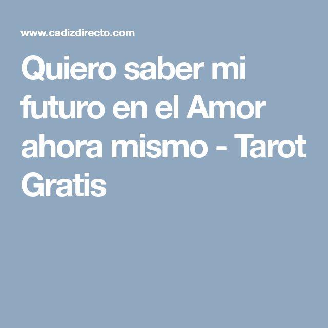 Quiero saber mi futuro en el Amor ahora mismo - Tarot Gratis