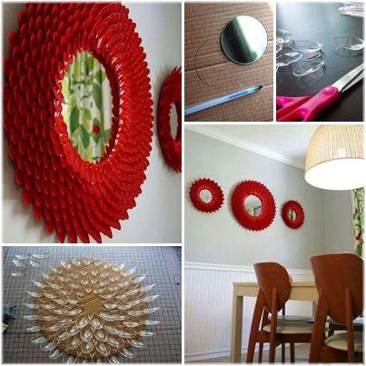 M s de 25 ideas incre bles sobre objetos con material reciclado en pinterest macetas con - Manualidades para ganar dinero ...