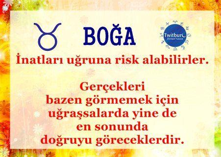 #Boğa Burcu #twitburc #astroloji