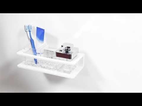 Bodenschatz Creativa Seifenspender Glas C-Profil - YouTube