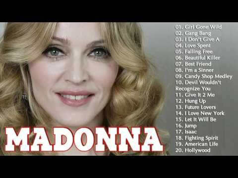 MADONNA Greatest Hits Full Album | MADONNA Best Songs Playlist - YouTube