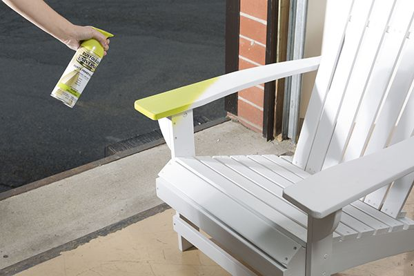 How to Spray Paint a Wooden Adirondack Chair