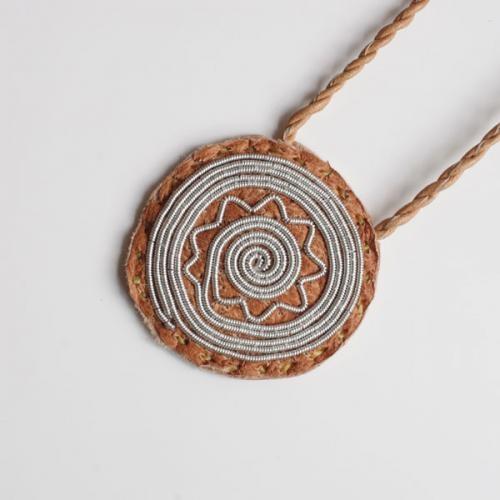 Ann Skum Lindstrom/coin Necklace
