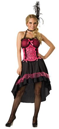 Sexy Deluxe Saloon Girl Costume - Burlesque Costumes