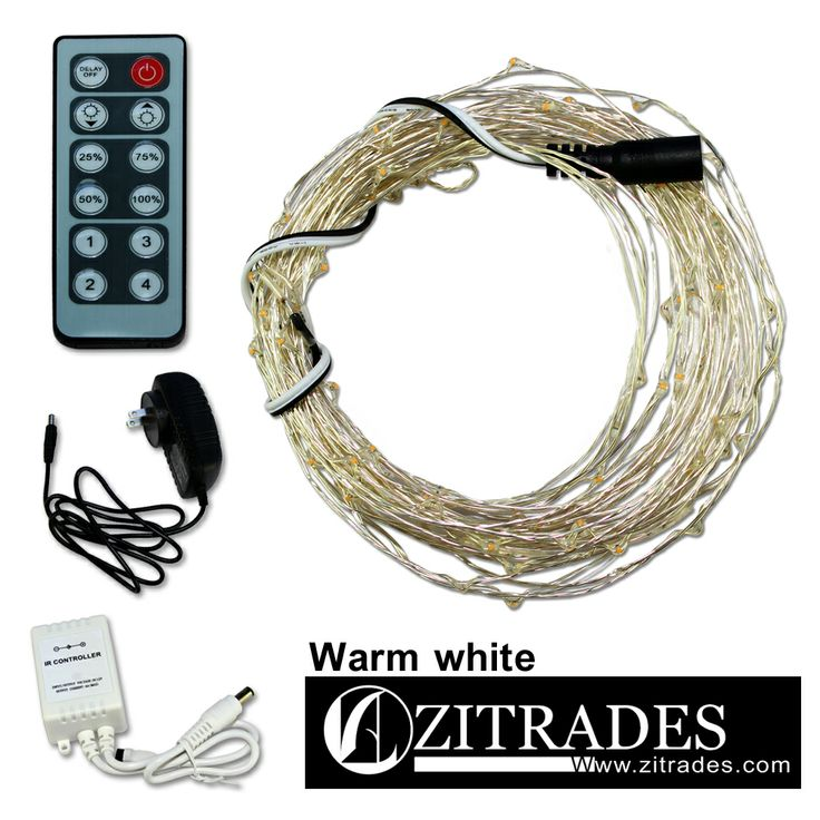 ZITRADES Deluxe DC 12V 33FT Warm White 100 LED Fairy light Ultra Thin  Silver Wire string83 best images about fairy lights on Pinterest. Armacost 21 Color Rgb Led Lighting Controller. Home Design Ideas