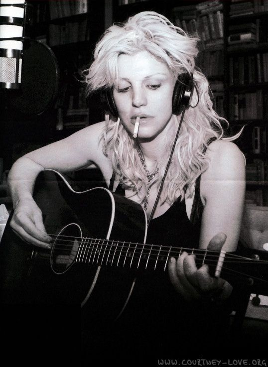 Courtney Love by Andy Willsher