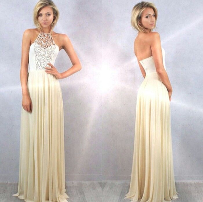 Studio Minc Cream And Gold Angel Gown Formal Dresses Pinterest