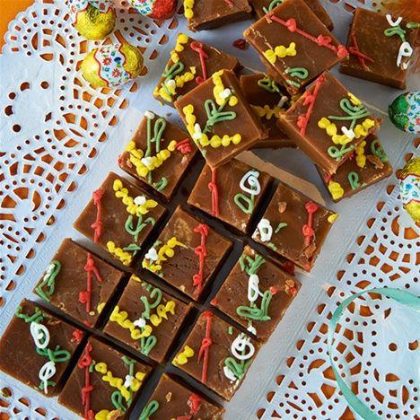 Plocka fram strössel, choklad, marsipan och en massa fantasi för årets påskgodis går i påskpysslets anda. Hemmets Journals Daniela och Helene bjuder på sina favoiter!